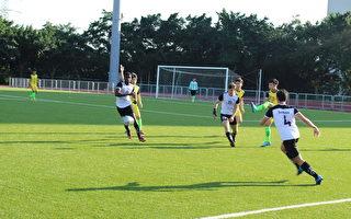 大专足球联赛  横跨五大洲小联合国学生北区夺冠