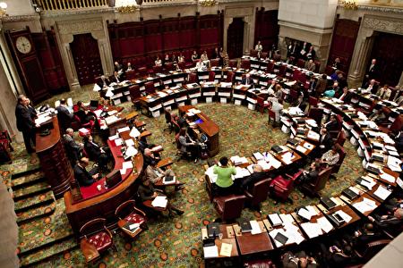 纽约州参议会。