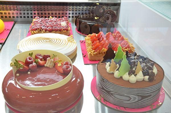 圖:高檔法式糕點店Forêt Noire Pâtisserie進駐溫哥華,首家連鎖店開張。