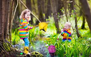 孩子參加戶外自由玩耍裨益多