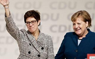 德國基民黨選黨魁 首輪小默克尔勝出