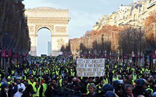 """""""黄背心""""运动给法国带来惨重经济损失"""