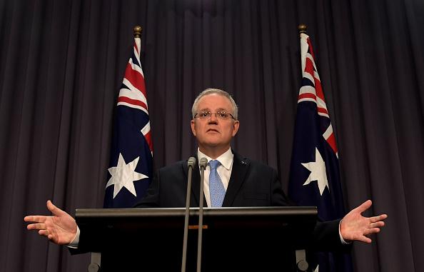 澳洲总理莫里森 大纪元时报 墨尔本
