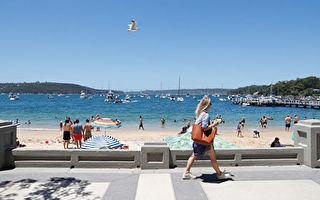 澳洲熱浪侵襲高溫天氣