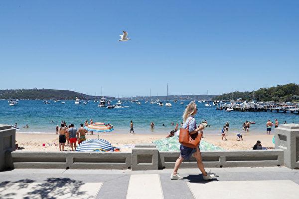 澳洲热浪侵袭高温天气