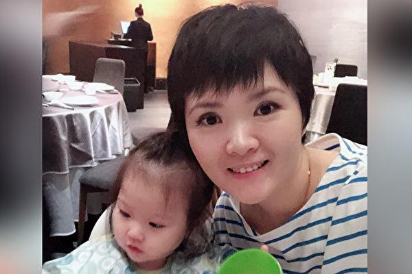 抗癌作家王筠銨(銨銨)在35歲時罹患乳癌。(王筠銨提供)