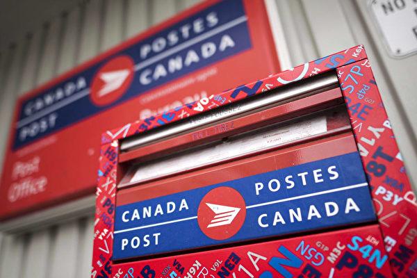 加拿大邮局2019年1月14日提高邮费。