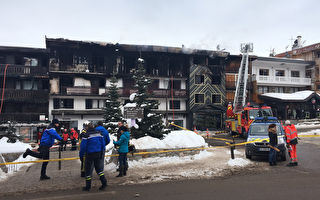 法國滑雪勝地發生大火 2死22傷