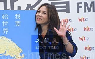 蔡健雅於2019年1月8日在台北出席台北之音活動