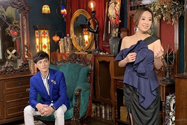 乔幼(右)新歌《拜托月娘》MV,找来师弟邬兆邦(左)对唱与演出