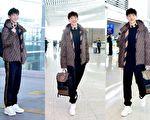 韩星金志洙受邀出席米兰男装周于14日举办的FENDI男装秀。