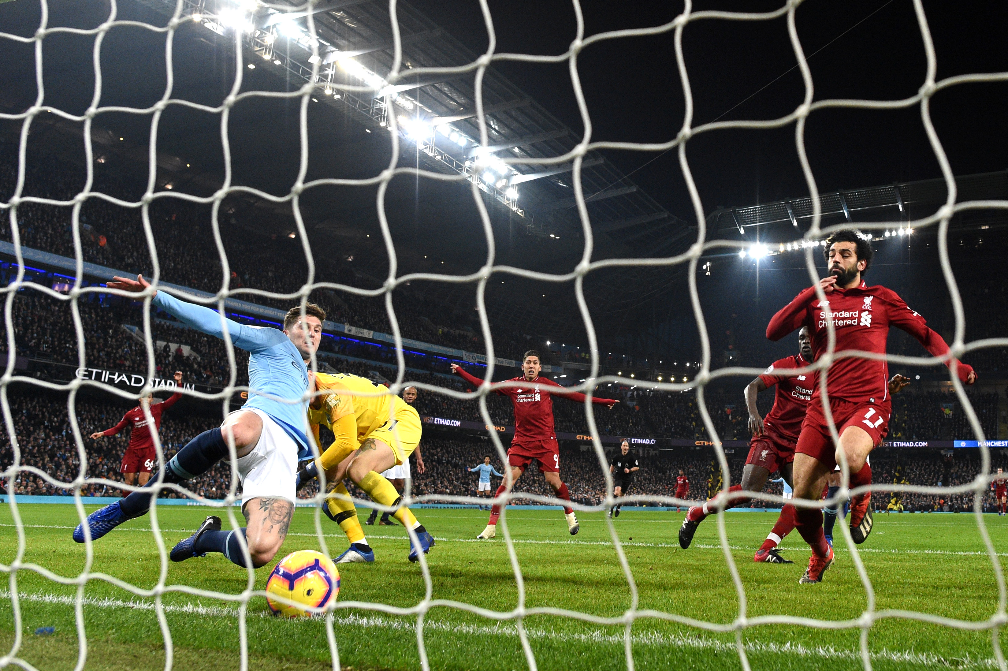 曼城主场2:1胜利物浦