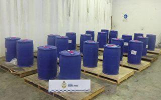 四吨液态毒品从中国抵悉尼被截 价值1200万