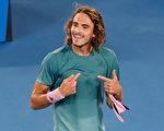 球王费德勒遭希腊新星淘汰 无缘澳网八强