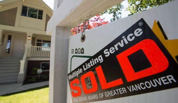 目前卑诗省全省房屋销售量低于十年平均水平