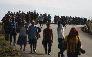 近4千大篷車難民在墨尋求庇護 未來或更多