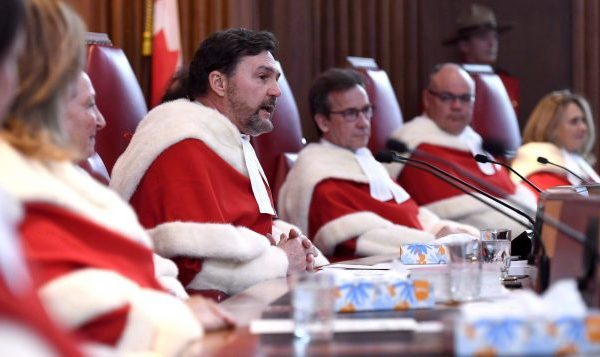 加拿大联邦首席大法官瓦格奈(Richard Wagner)说,投票是加拿大公民的基本政治权利。(加通社)