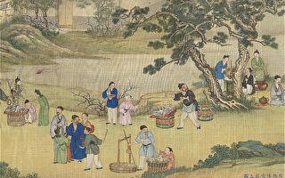 中國畫 太平春市圖