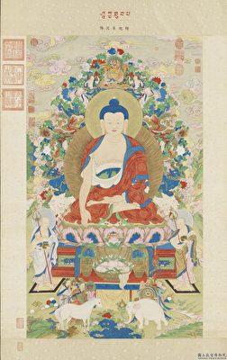 释迦牟尼佛 中国画