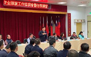 楊梅分局加強重要節日安全維護工作協調會