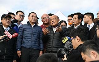 苏揆视察沙珠湾 挺侯打造冲浪基地