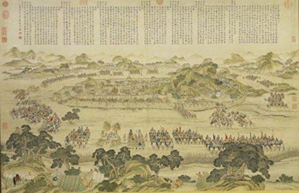 中国画 战争
