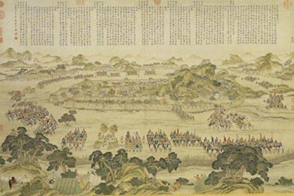 中國畫 戰爭
