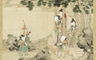 中国画 戏童