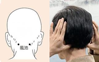 平时常按摩风池穴,对于颈部和眼睛都有好处。
