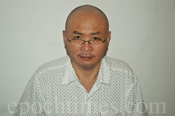 遭受傅政華等人酷刑迫害的武漢富商徐崇陽。(徐崇陽提供)