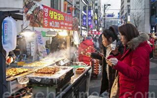 组图:游首尔 不可错过明洞人气小吃