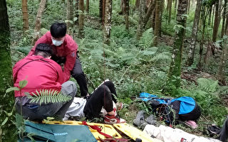 花莲飞行伞坠落意外 受伤陆客手术复原中