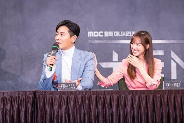 Ju Ji Hoon and Jin Se-yeon