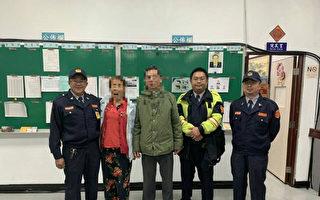 自由行迷路暖警解围 6旬陆客体会台湾温暖