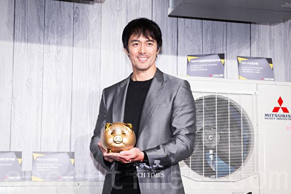本男星阿部宽2月20日在台北出席代言活动