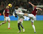 利物浦被西漢姆聯1:1逼平