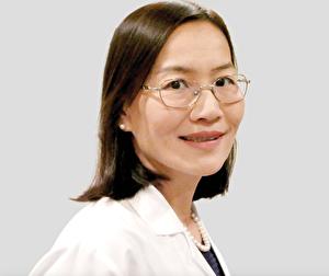 纽约史坦顿肿瘤放射治疗中心李萧红医生。(图/医生提供)