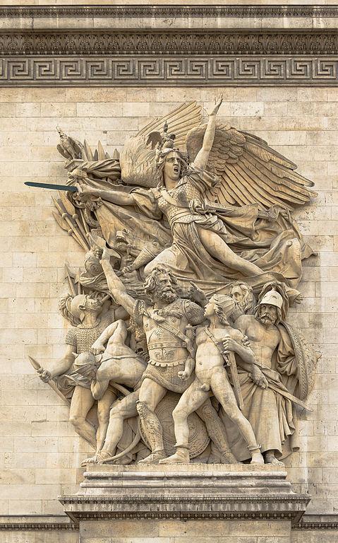 https://zh.wikipedia.org/wiki/File:Le_D%C3%A9part_des_Volontaires_(La_Marseillaise)_par_Rude,_Arc_de_Triomphe_Etoile_Paris.jpg