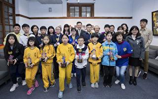 竹市世界城市杯三算夺牌选手  最小国小二年级