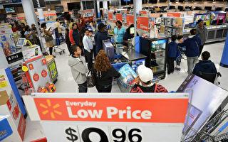 網絡上,中國人一直羨慕美國的物價。 (AFP)