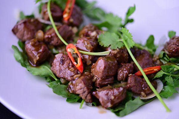 Chi時尚越南餐館提供的美味佳肴。
