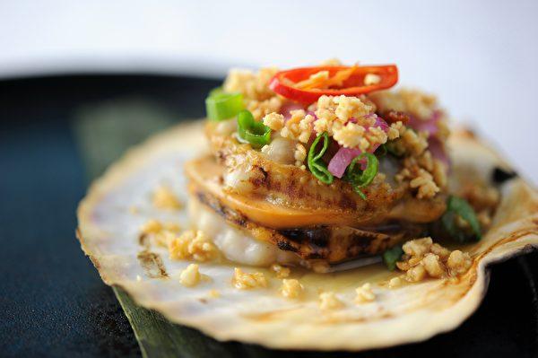 Chi时尚越南餐馆提供的美味佳肴。