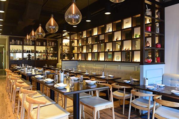 Chi时尚越南餐馆的室内景致
