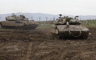 以色列大模规演习 模拟对真主党作战