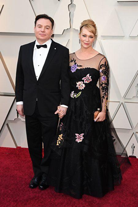 麥克·梅爾斯(Mike Myers)夫婦