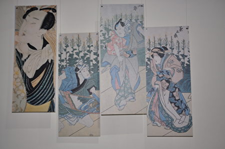 《盛世萬象-史博館典藏浮世繪展》,展出的作品之一