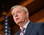 在美國司法部長對通俄門調查報告做出摘要總結後,參議院少數黨領袖林賽・格雷厄姆(Lindsey Graham,如圖)週一表示,他希望司法部能指定一名特別檢察官,對2016年大選期間民主黨陣營的作為展開調查。
