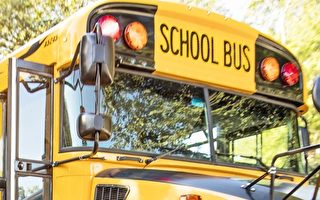 校车司机昏倒 车上学生快速救下校车及司机
