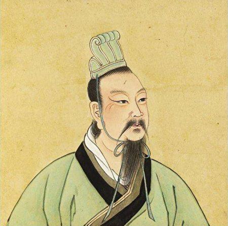 汉文帝画像。(公有领域)