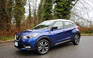 车评:轻型CUV 2018 Nissan Kicks SR